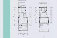 三房两厅两卫125.76㎡