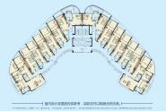九铭屿海B9栋平面图