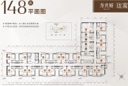 龙光城珑寓148栋平面图