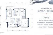 96㎡,3房2厅2卫