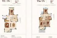下叠164㎡,3+1房2厅3卫