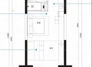 A1户型, 1室1厅1卫1厨